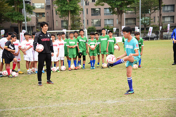 [IN新聞] YAMAHA CUP足球賽 日JUBILO教練團連十年來台見證小將茁壯