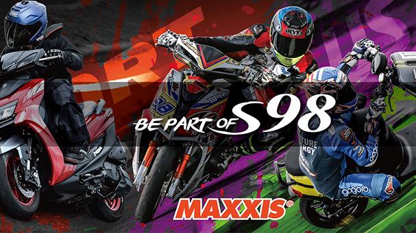 [IN新聞] Maxxis S98,全新騎乘體驗,三款輪胎、八種規格全面發表。
