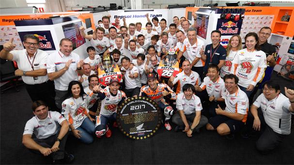 [IN新聞] 勇奪世界冠軍!Honda送你限量三冠貼紙!