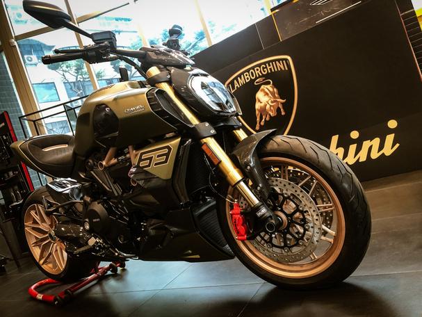 [IN新聞] 全台只有兩台 Ducati Diavel 1260 Lamborghini 低調在台亮相